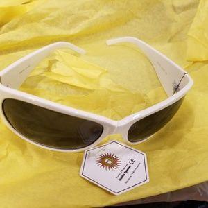 White bling sunglasses